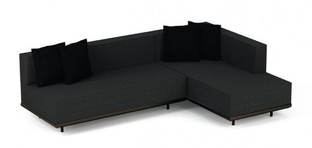 Royal Botania Red Label Lazy Lounge-Set 03 inkl. Dekokissen