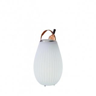 The Joouly® 3in1 - Outdoor-Leuchte, Bluetooth-Lautsprecher & Wine Cooler in einem, Größe 'S' 35 cm, Ø 26/12 cm
