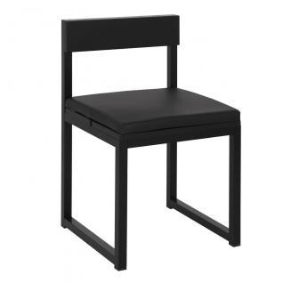 Menfis Stuhl, Gestell eloxiert oder pulverbeschichtet von Sachi