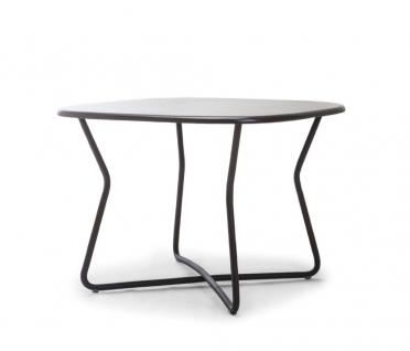 Gartentisch Adesso 100 × 100 cm mit Fiberglas Tischplatte von Kenneth Cobonpue