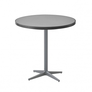 Cane-line Drop Gartentisch mit Aluminium-/Keramikplatte | Bistrotisch Ø 75 cm