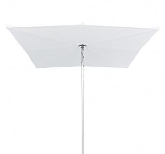 Sonnenschirm Infina 250 cm, quadratisch von Umbrosa inkl. Schutzhülle mit Gestell aus eloxiertem Aluminium