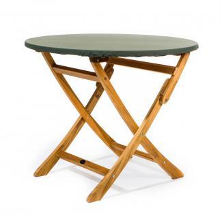 Tischplattenhaube rund mit Gummizug Ø 130 - 180 cm