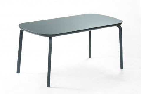 Ego Paris Marumi Esstisch 160 x 80 cm mit Aluminium-, Teak- oder Keramiktischplatte