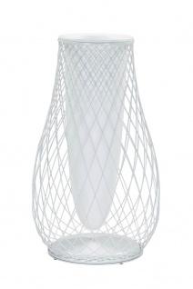 Emu Heaven Outdoor Vase • Blumentopf H 103 cm • Stahl / Drahtgitter