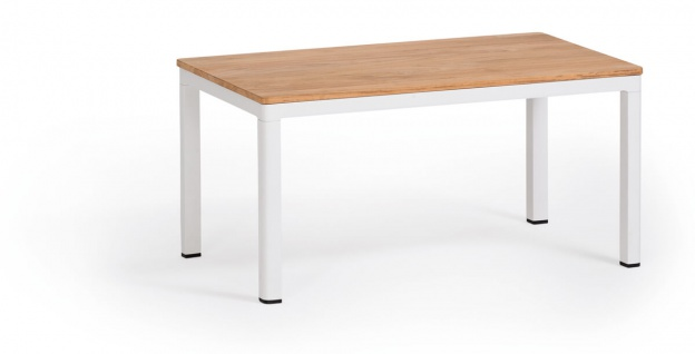 Weishäupl Minu Beistelltisch 77 x 50 cm • Teak- oder HPL-Tischplatte