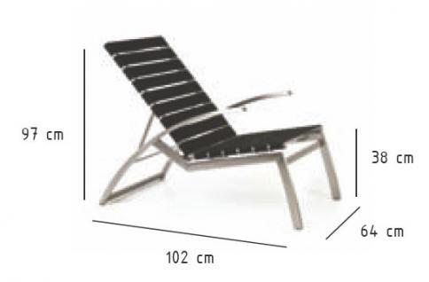 Todus Alcedo Lounge Sessel, verstellbar, elastische Bänder - Kaufen ...