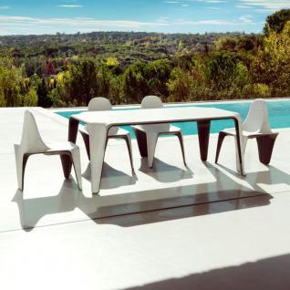 Vondom F3 Gartentisch, stapelbar 190 × 90 cm - Vorschau 4