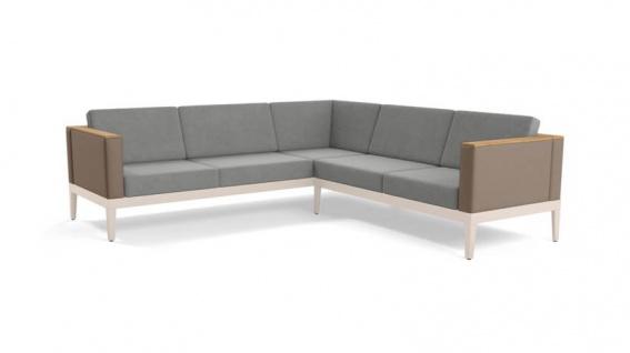 Loungesofa Aura • 2 + 3 Ecksofa • 357 × 178 cm von Barlow Tyrie