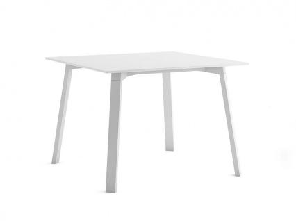 Timeless Gartentisch • Alu/Decton® Esstisch 100 × 100 cm von GANDIA BLASCO