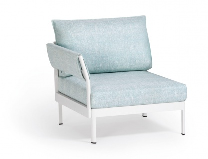 Weishäupl Minu 1-Sitzer Element • Armlehne links/rechts