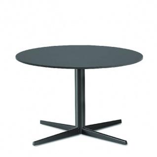 Lapalma Auki Loungetisch rund / Kaffeetisch rund Ø 80 cm / weiß oder schwarz
