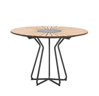 Houe Circle Gartentisch mit Aluminiumgestell • Outdoor Esstisch Ø 110 cm