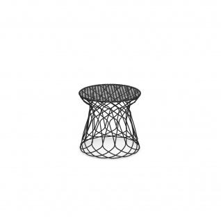Emu Re-Trouvé Gartenhocker • Outdoor Hocker Ø 45 cm • Stahl, beschichtet