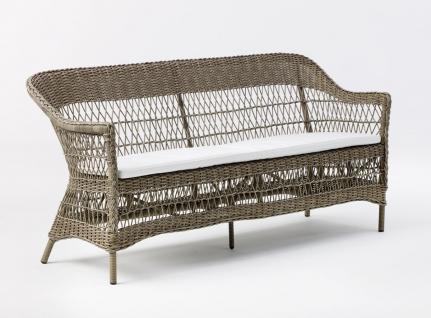 polyrattan sofa 3 sitzer g nstig kaufen bei yatego. Black Bedroom Furniture Sets. Home Design Ideas