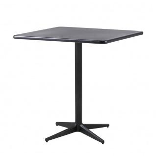 Cane-line Drop Gartentisch mit Aluminiumplatte   Bistrotisch 75 cm