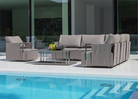 Suite Beistelltisch 80 x 80 cm von Fischer Möbel - Vorschau 5
