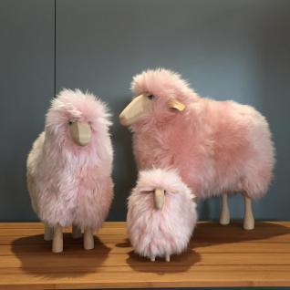 Schafe in Weiß oder Rosé, verschiedene Größen, echtes Fell!