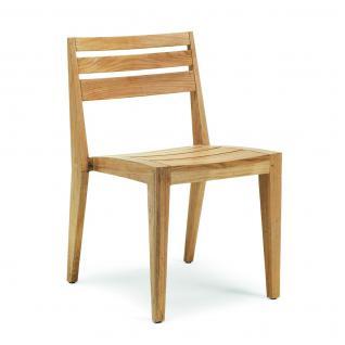 Ethimo Ribot Gartenstühle stapelbar (2 Stück)