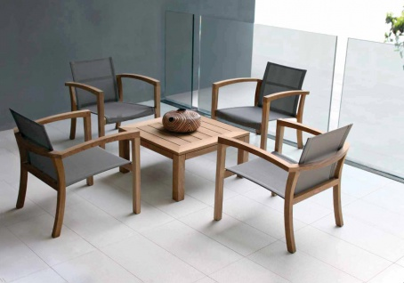 Royal Botania XQI Lounge Sessel, stapelbar - Vorschau 4