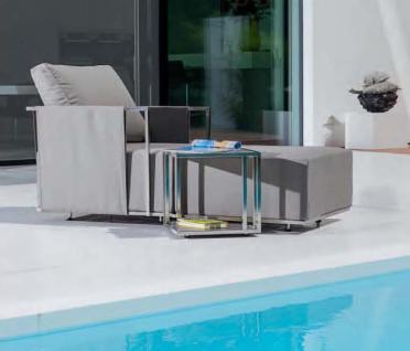 Suite Beistelltisch 80 x 80 cm von Fischer Möbel - Vorschau 4