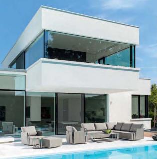 Suite Lounge Sessel 70 x 80 cm mit Hocker von Fischer Möbel - Vorschau 4