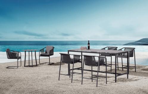 Fischer Möbel Suite High Dining Sessel exkl. Sitzauflage • Geflecht granite - Vorschau 2