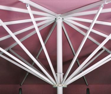Sonnenschirm Albatros von May, rechteckig (10-Teiler) 300 × 400 cm, mit Volant - Vorschau 2