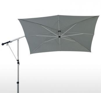 Sonnenschirm Mezzo von May, rechteckig, 210 x 300 cm