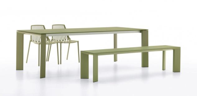 Fast Grande Arche Verlängerungsplatte 100 × 50 cm für Gartentisch ausziehbar - Vorschau 3