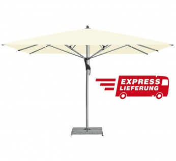 Sonnenschirm Fortello LED quadratisch 350 × 350 cm von Glatz - Express Lieferung