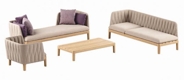 Royal Botania Calypso Lounge Set 05