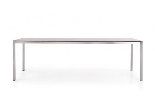 Todus Puro Esstisch 300 × 100 cm, HPL oder Keramikplatte