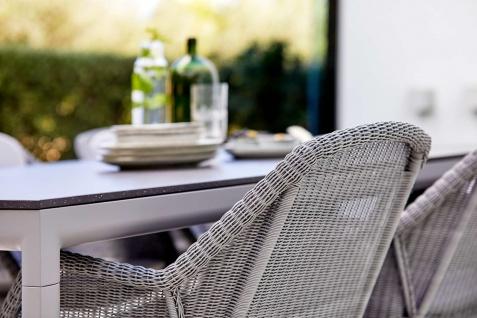 Cane-line Drop Gartentisch mit Aluminium-/Keramikplatte | Bistrotisch Ø 60 cm - Vorschau 5