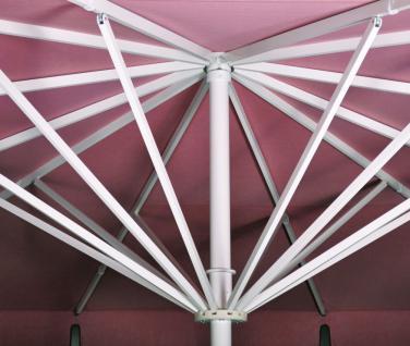 Sonnenschirm Albatros von May, rechteckig 500 x 750 cm, ohne Volant - Vorschau 2