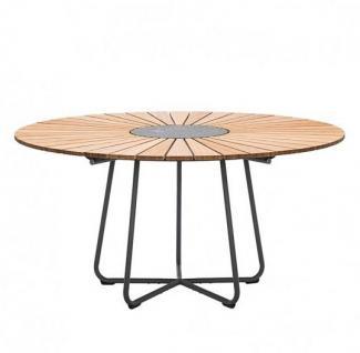 Houe Circle Gartentisch mit Aluminiumgestell • Outdoor Esstisch Ø 150 cm
