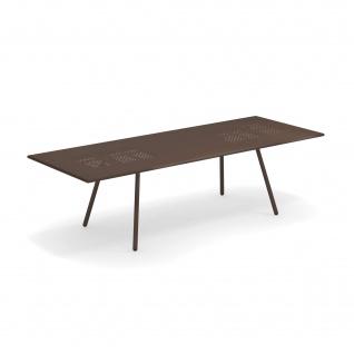 Emu Bridge Gartentisch ausziehbar 200-270 cm • Esstisch mit Metall Tischplatte