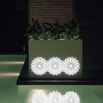 Fesfoc Arabia Gartenleuchte / Pflanzkübel 110 cm