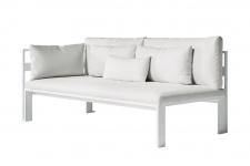 JIAN Loungesofa Endmodul 1 links • 176 × 90 cm von GANDIA BLASCO
