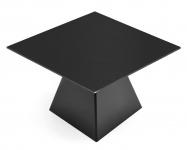 Varaschin Tower Gartentisch quadratisch, Gestell 65×65 cm, HPL Tischplatte 120-150 cm