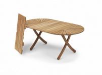 Klappbarer Tisch Selandia oval 180 / 280 cm von Skagerak