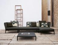 B&B Italia Ravel modulierbares Sofa, Modul rechts 150 cm