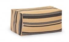 Weishäupl Chill Gartenhocker 80 × 40 cm • Outdoor Loungehocker