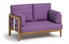 Zweisitzer-Sofa Newport 147 cm von Weishäupl