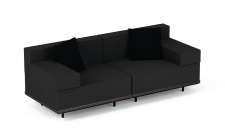 Royal Botania Red Label Lazy Lounge-Set 02 inkl. Dekokissen