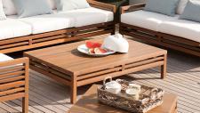 Herrenhaus Cubic Nature Lounge Beistelltisch 140 cm