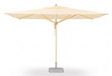 Sonnenschirm Klassiker von Weishäupl quadratisch 400 cm
