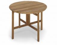 Klappbarer Tisch Selandia rund 94 cm von Skagerak
