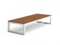 SALER SOFT Teak Loungetisch 160 × 60 cm von GANDIA BLASCO