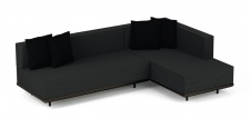Royal Botania Red Label Lazy Lounge-Set 03 inkl. Dekokissen
